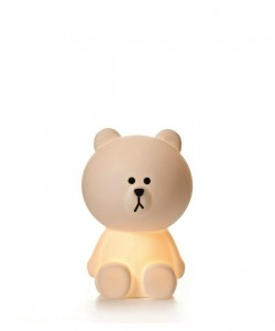 brown smal Mr. Maria Designleuchte Kinderzimmerleuchte Kinderzimmerlampe Teddyleuchte Teddylampe Bärenleuchte Bärenlampe