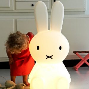 Miffy smal Mr. Maria Designleuchte Kinderzimmerleuchte Kinderzimmerlampe Hasenleuchte Hasenlampe