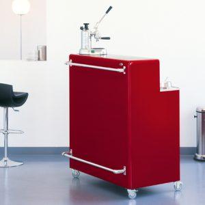 _Müller Möbelfabrikation_Bar_Barschrank_Barmöbel_Designmöbel_Eisenmöbel