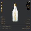 LED Beer Bulb Flaschenleuchte Designleuchtmittel Bierglühlampe Segula