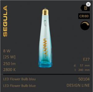 LED Flower Bulb Flaschenleuchte Designleuchtmittel Flaschenleuchtmittel, Flaschenglühbirne Sigula Einrichtungshaus XXS