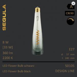 LED Flower Bulb Flaschenleuchte Designleuchtmittel Flaschenleuchtmittel, Flaschenglühbirne Sigula
