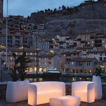Myyour Nova Loungemöbel beleuchtete Möbel Gartenmöbel Loungegruppe illuminierte Möbel Das Einrichtungshaus XXS Willich